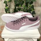 NEW Women's PUMA Vikky Suede Casual Sneakers Shoes Pink Elderberry Pick Size