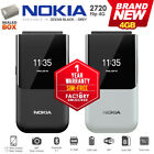 New  Unlocked NOKIA 2720 4G Flip Black/Grey KaiOS Dual SIM GSM Cell Phone