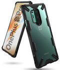 For OnePlus 8 Pro Case | Ringke [FUSION-X] Clear PC Back Shockproof Bumper Cover