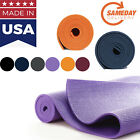 MADE IN USA Athletic Exercise yoga mat Multi color FAST SHIPPING