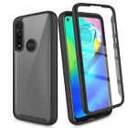 For Motorola Moto G Power 2020 Case Clear Slim Cover Built-In Screen Protector