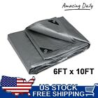Heavy Duty Tarp Poly Canopy Tent Shelter Reinforced Resistant Cover Tarpaulin US