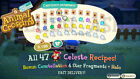 Animal Crossing New Horizons DIY Item Sets! Art, Celeste, DAL & More!