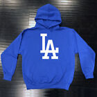 Los Angeles Dodgers Hooded Sweat Shirt Cotton Hoodie Adult Men LA LAD Sweatshirt on Ebay