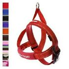 EZYDOG Quick Fit Dog Harness One Click Adjustable Reflective Ezy Red ALL SIZES