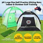 3M Oxford Encryption Indoor Outdoor Golf Large Size Practice Net Training Tent