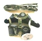 """Dog Harness & Leash 2 pc Camo Cool Mesh Netted by Doggie Design XL 19-21"""" Chest"""