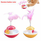 Tumbler Ball Artificial Feather Pet Supplies Interactive Toy Funny Cat Kitten