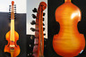More images of Baroque Master SONG 7×7 strings 14 Viola dAmore,carving angel scroll #14590