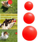 Pet Dog Toy Indestructible Solid Rubber Ball Training Chew Play Fetch Bite