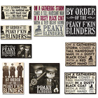 Peaky Blinders canvas classic decor bar man cave home gift for dad him