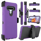 For LG Stylo 6 Case Shockproof TPU Holster Belt Clip Stand Armor Defender Cover