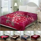 Super Soft Thick & Warm Bed Blanket Premium Thermal Bed Throw UK King Size Mink