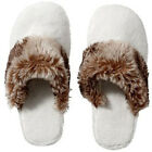 Kyпить NEW Pottery Barn Cozy Mens Womens Faux Fur Cheetah Ombre Slippers Shoes L 10-11 на еВаy.соm