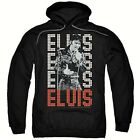 "Elvis Presley ""Elvis, 1968"" Mens Unisex Pull-Over Hoodies Available Sm to 5x"