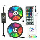 LED Strip 5050 2835 LED Lights 5M 10M 15M LED Light Strip 44Key RGB Controller
