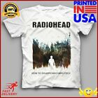 Radiohead How To Disappear Reprint Cotton White For Men T-shirt image