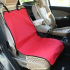 Dog Car Seat Cover Pad Waterproof Pet Trunk Carrier Cover Protector Non-Slip Red