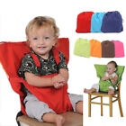 Baby Portable Feeding Seat Belt Safety Foldable Strap For High Chair Pram Straps