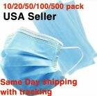 USA Seller 50 PCS Face Mask Mouth & Nose Protector Respirator Masks with Filter