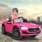 Kids Ride on Cars - 12V Children Electric Maserati Ghibli Toys W/ LED Headlights