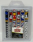 Disney Mickey & Minnie Mouse 2020 Designed Writing Pens With Caps- 6 Pack