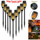 Outdoor LED Solar Torch Light Waterproof Dancing Flickering Flame Lamp Yard Path