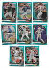 2020 Panini Prizm MEGA TEAL WAVE REFRACTORS - Pick From List Complete Your Set