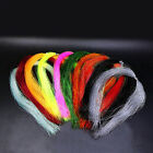100 Root/bundle Holographic Tinsel String Jig Hook Fishing Lure Material V0a3