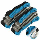 Synthetic Winch Rope 82ft-164ft Blue/Black Extension Rope Winch Cable