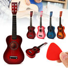 Wooden Kids Toy Guitar Childrens Acoustic Prop Musical String Practice Gifts