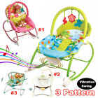 Baby Swing Infant Cradle Electric Rocker Bouncer Vibration Chair Toys Music