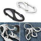 8 Shape Carabiner Keychain Portable Outdoor Hook Clasp Quality High T9l3