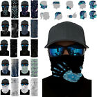 Cycling Biker Bandana Snood Scarf Tube Balaclava Plain Face Cover Neck Dustproof