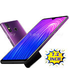 "Note Phone 7.2"" Android 4gb Mobile Phone Unlocked Dual Sim Smartphone Tablet Gps"