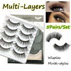 Tools Criss-cross False Eyelashes Natural Long Lash Extension 3D Mink Lash