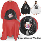 Kyпить Hair Cutting Cape Salon Hairdressing Gown with Viewing Window Barber Cloth Apron на еВаy.соm