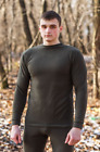 Men's Thermal Underwear Winter Underwear Set Warm Suit Fleece Hunting Fishing