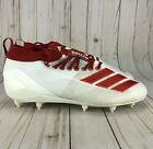 Adidas Adizero 8.0 Football Cleats White Red D97028 Mens Choose Size