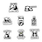 Creative Panda Brooches Badge Knapsack Jacket Enamel Pin Lapel Pins Ornaments