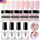 8 pcs/Set NICOLE DIARY Dipping Powder Glitter Dip Liquid Top Base Starter Kit