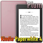 Plum Amazon All-new Kindle Paperwhite 4 2018 10th gen ebook reader w/ light