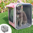 Breathable Pet Dog Cat Carrier Bag Collapsible Cat Backpack Puppy Travel Cage