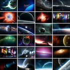 Mysterious Outer Space Background Photography Backdrop Props Planets