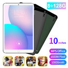 "10"" Ultra-thin 4G 8 128G Android 9.0 HD WIFI Dual SIM Triple Camera Tablet PC"