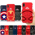 Hero Emblem Color Jelly Case for Samsung Galaxy S20 S20+ Ultra / S10 S9 S8 S7 S6
