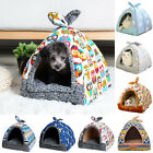 Pets House Igloo Soft Warm Padded Fleece Winter Bed Small Dog Cat Basket Kennel