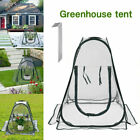 PORTABLE PLASTIC GREENHOUSE CLEAR COVER FLOWERS BONSAI PLANTS GROW TENT