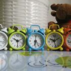 Creative Cute Mini Metal Alarm Clock Small Alarm Clock Home Decor Lovely
