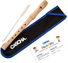 More images of CASCHA Wooden Descant Recorder for Children and Beginners, Baroque Fingering, HH